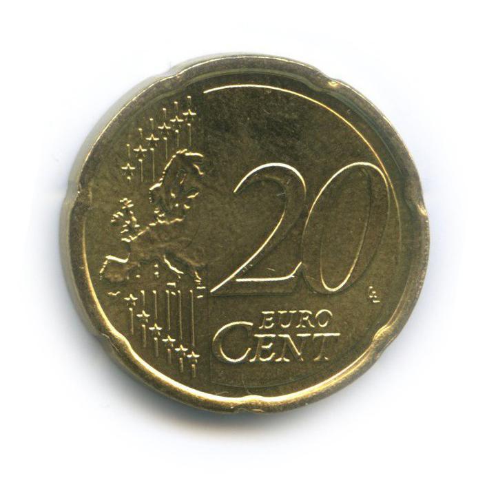 20 центов 2011 года (Нидерланды)