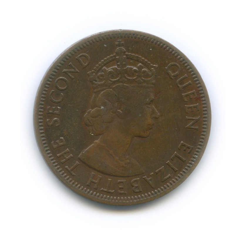 1 цент, Британские Карибские территории 1958 года