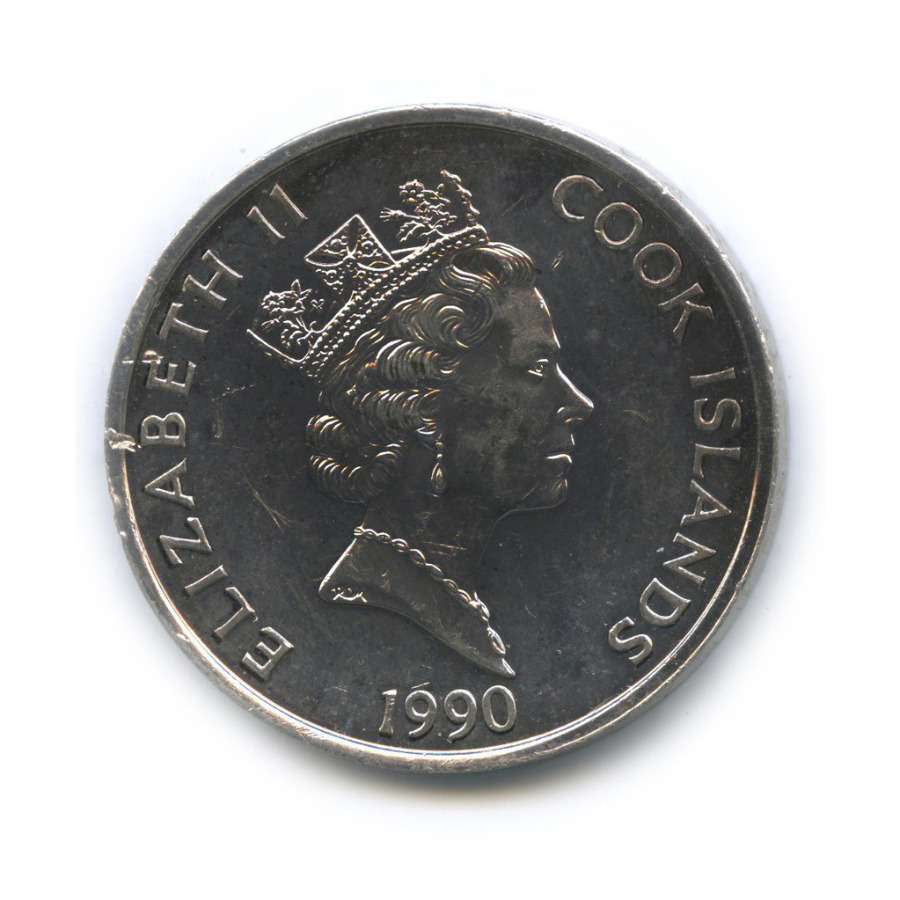 50 долларов - 500 лет открытия Америки, Острова Кука 1990 года