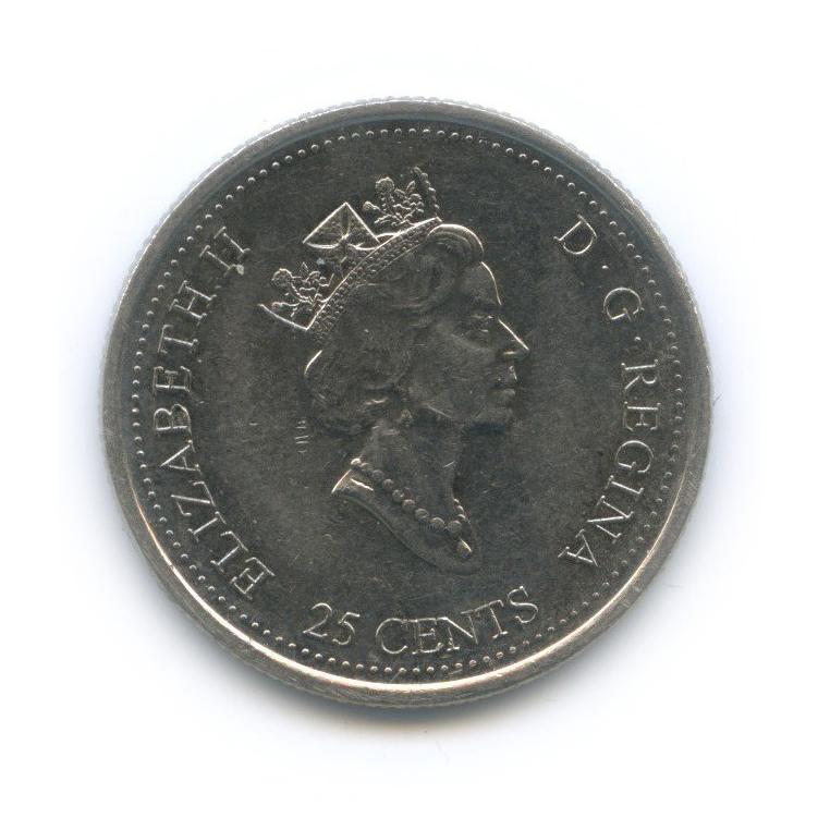 25 центов (квотер) — Миллениум - Апрель 1999, Северное наследие 1999 года (Канада)