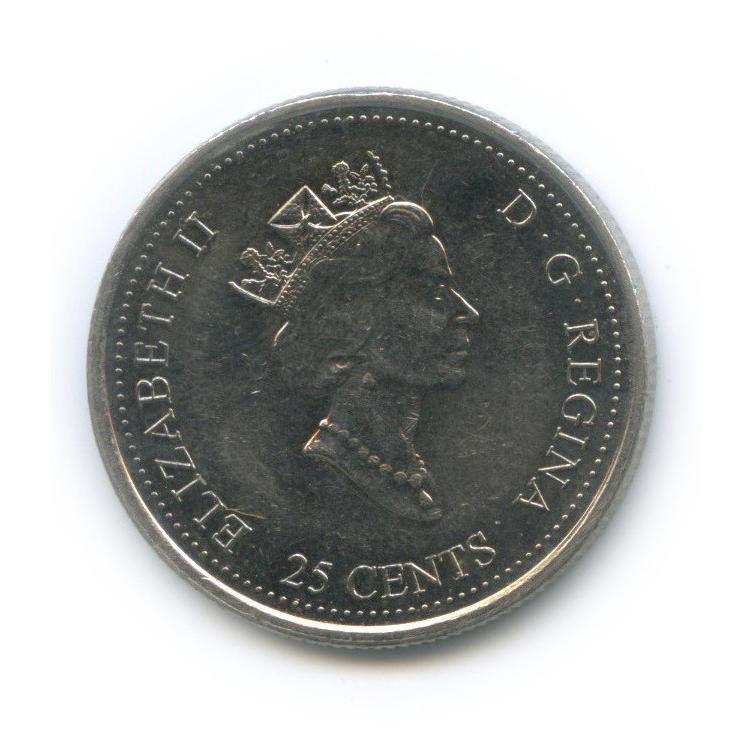 25 центов (квотер) — Миллениум - Достижения 2000 года (Канада)