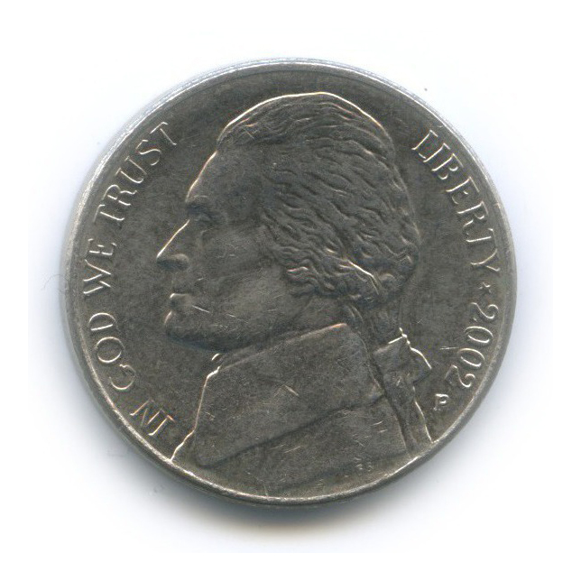 5 центов 2002 года P (США)