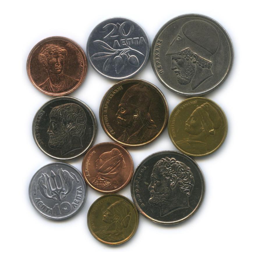 Набор монет (Греция)