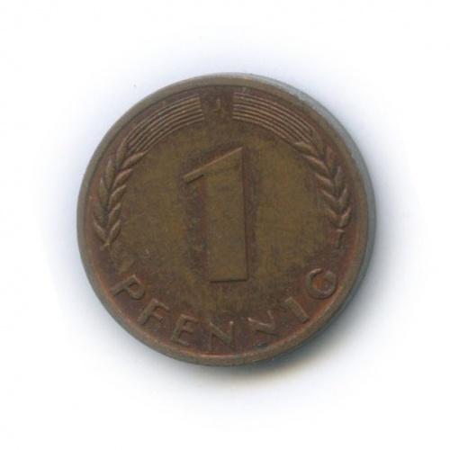 1 пфенниг 1968 года J (Германия)