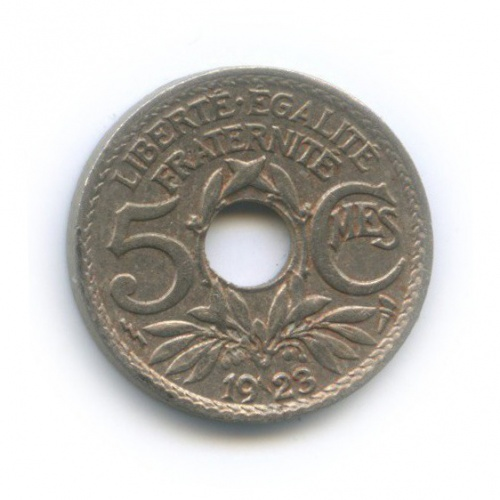 5 сантимов 1923 года (Франция)