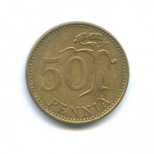 50 пенни 1977 года (Финляндия)