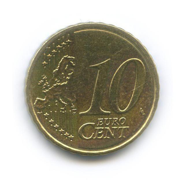 10 центов 2009 года (Греция)
