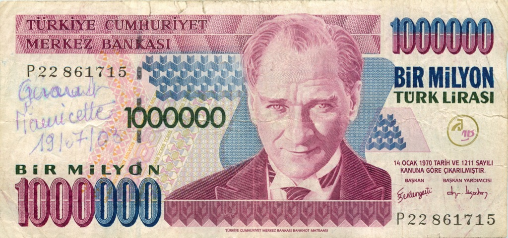 1 миллион лир (Турция)