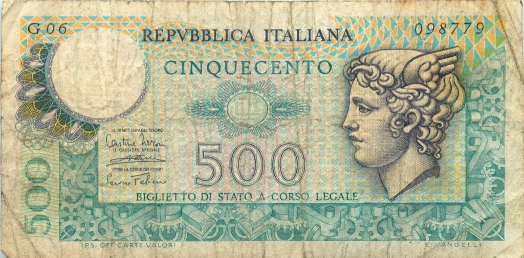 500 лир (Италия)