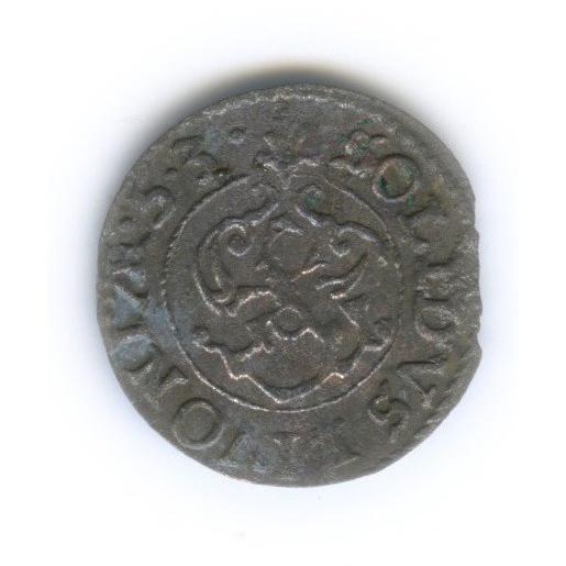 Солид - Королева Кристина, Ливония 1653 года