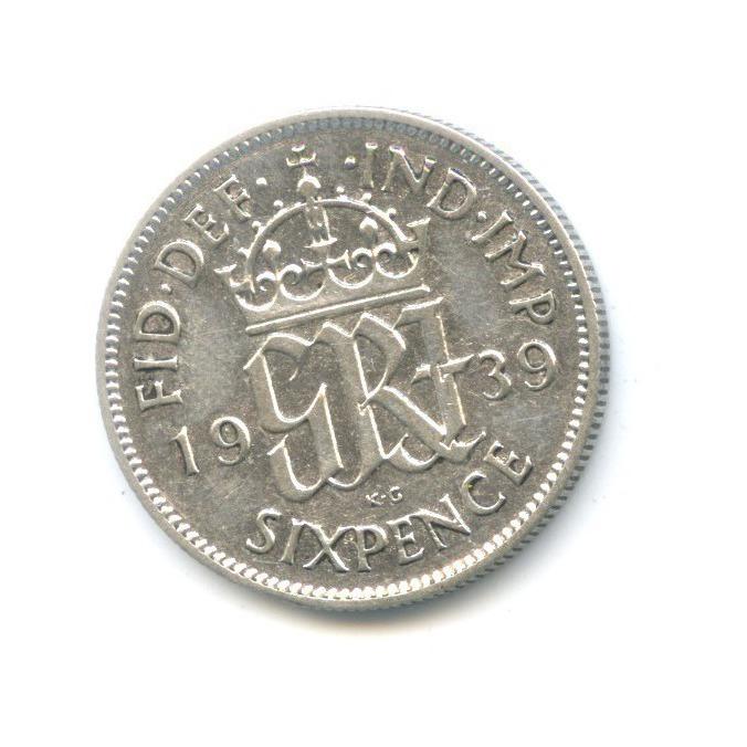 6 пенсов 1939 года (Великобритания)