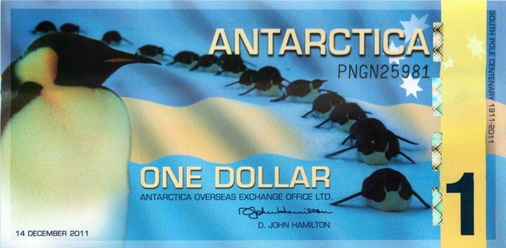 1 доллар (Антартика) 2011 года