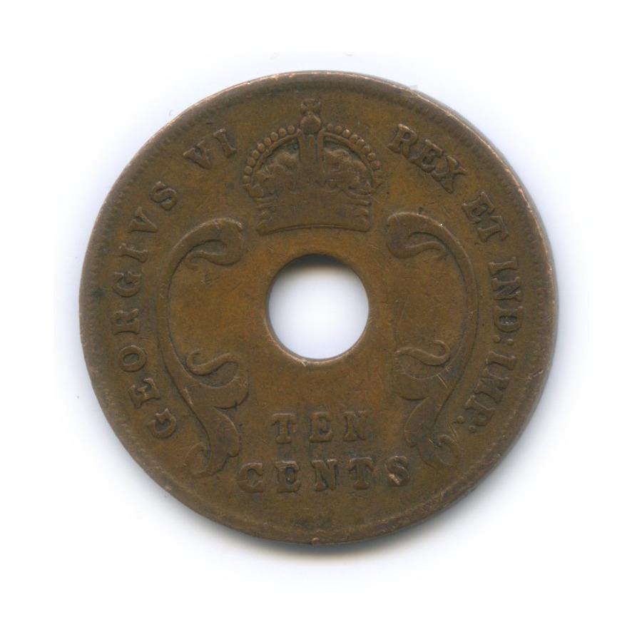 10 центов, Восточная Африка 1943 года