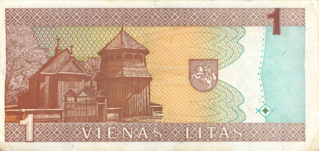 1 лит 1994 года (Литва)