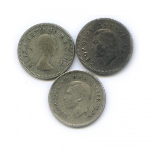 Набор монет 3 пенса (ЮАР)