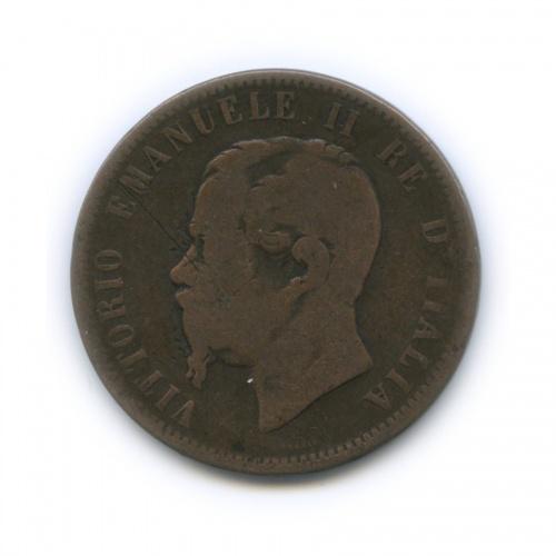 10 чентезимо - Виктор Эммануил II 1862 года (Италия)