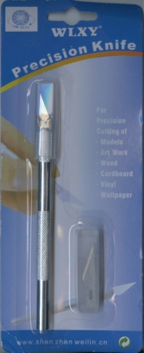 Скальпель снабором лезвий «WLXY precision knife»