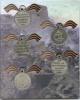 Набор медалей Российской Империи (копии, вальбоме)