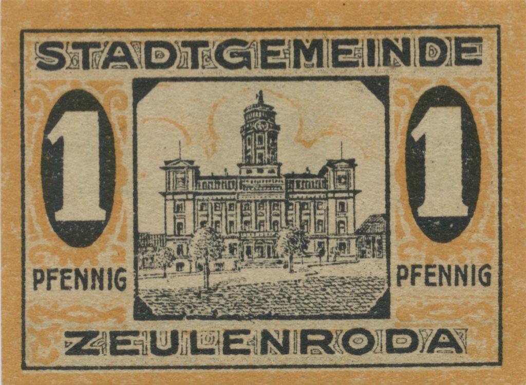 1 пфенниг (нотгельд) 1920 года (Германия)