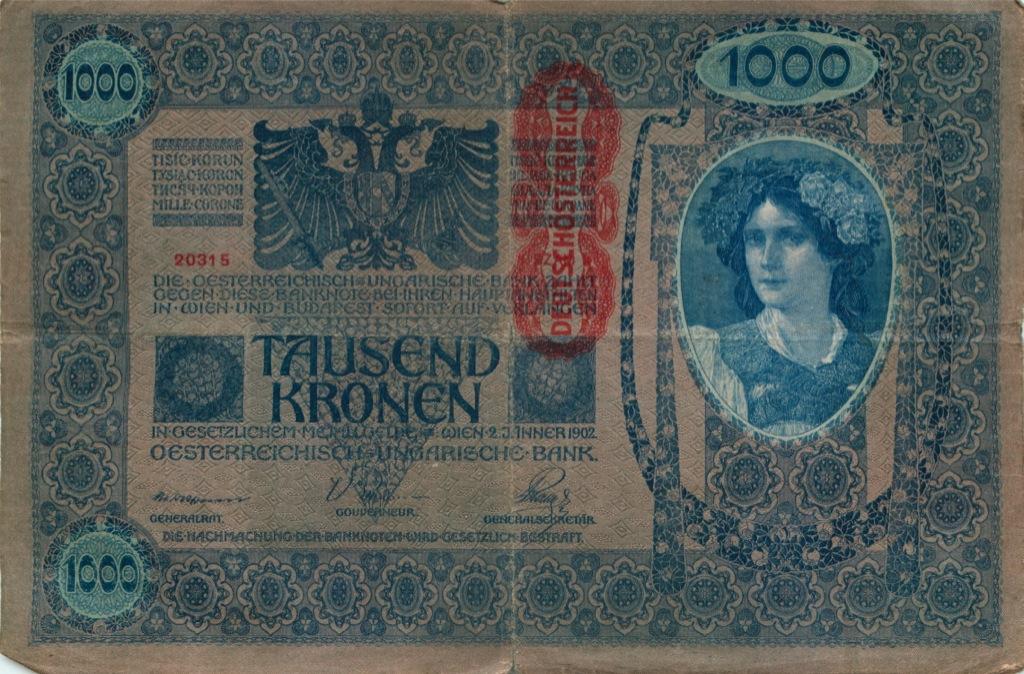 1000 крон (Австро-Венгрия) 1902 года