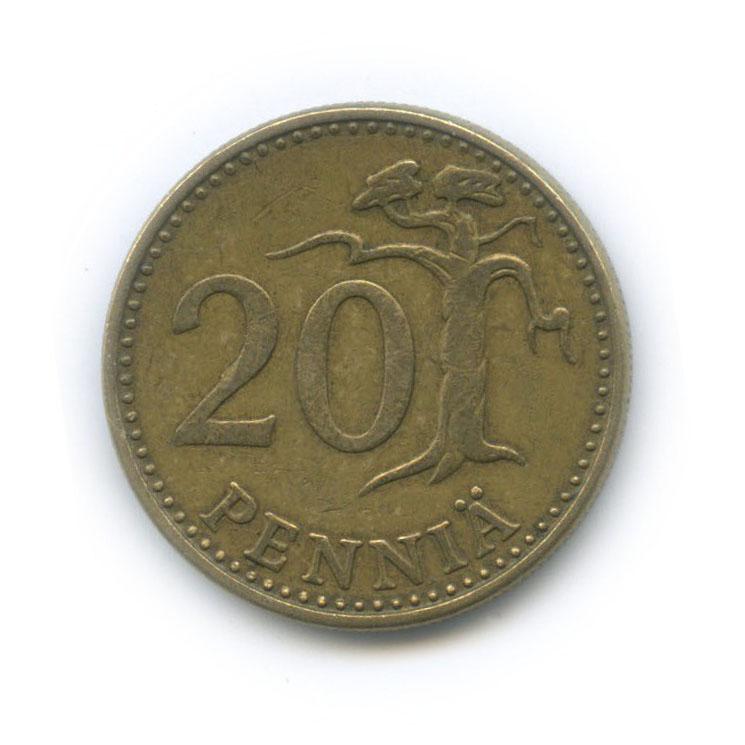 20 пенни 1973 года (Финляндия)