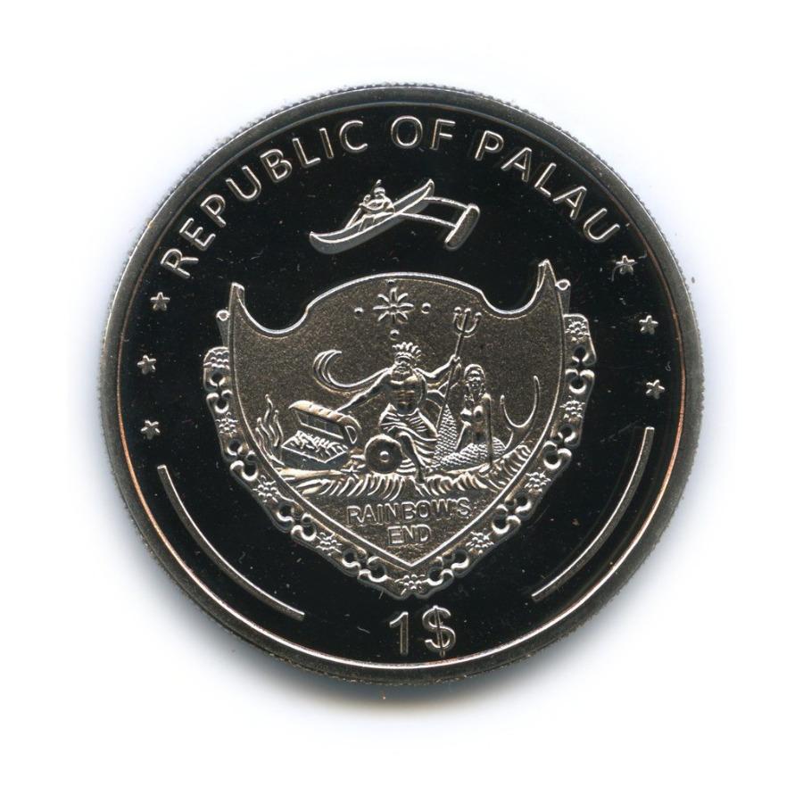 1 доллар - Под угрозой исчезновения, Палау (вцвете) 2011 года