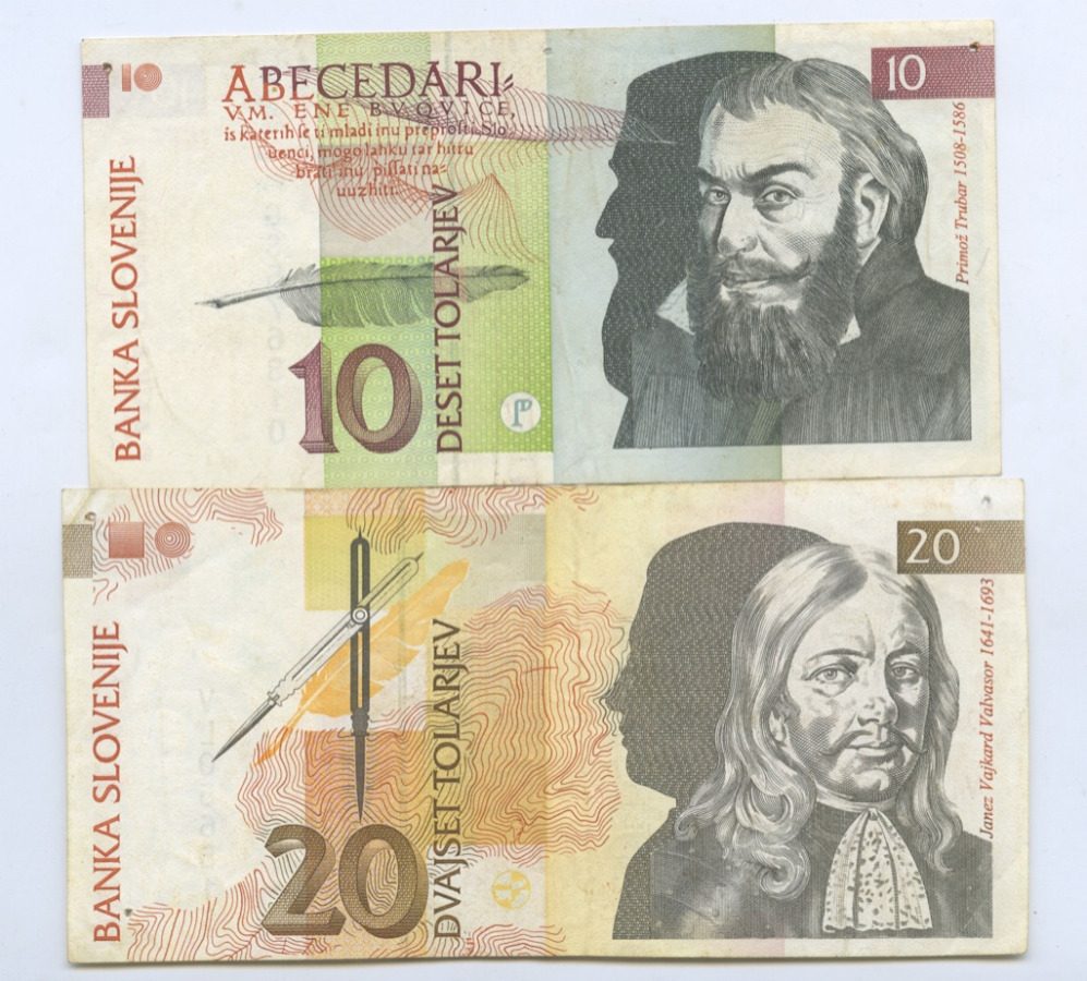 Набор банкнот 1992 года (Словения)
