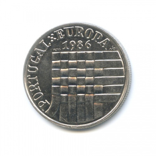 25 эскудо — Вступление взону свободной торговли Европы 1986 года (Португалия)