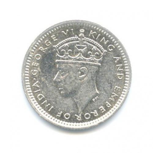 5 центов - Георг VI, Британская Малайя 1943 года