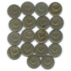 Набор монет 15 копеек 1961-1991 (СССР)