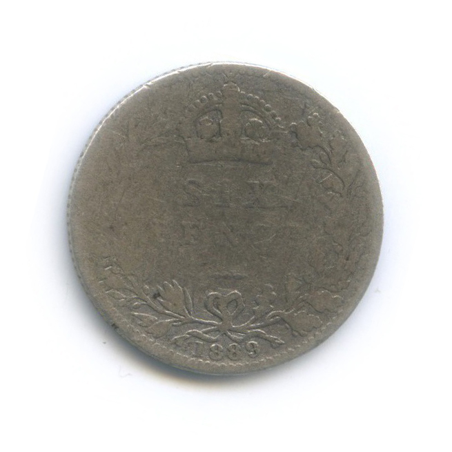 6 пенсов 1889 года (Великобритания)