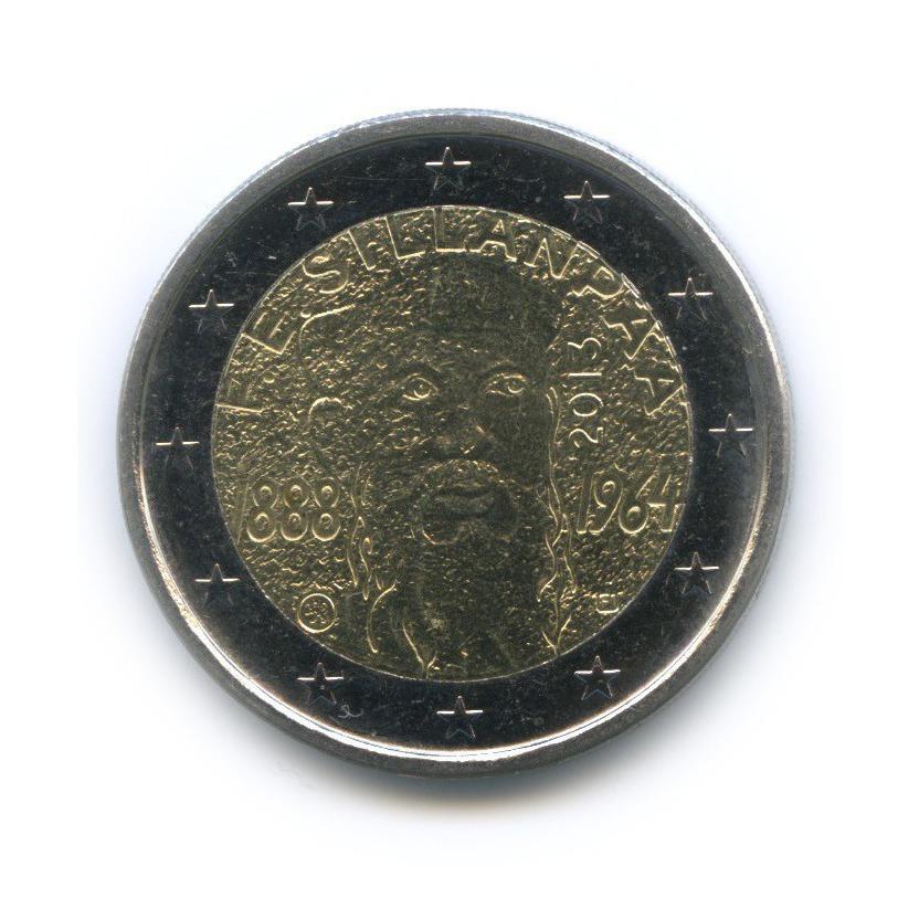 2 евро — 125 лет содня рождения Франса Эмиля Силланпяя 2013 года (Финляндия)
