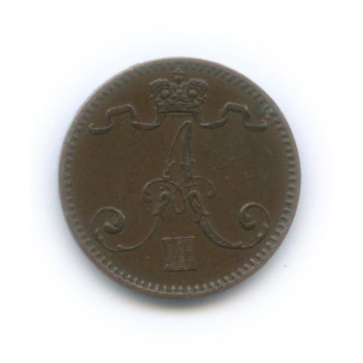 1 пенни 1893 года (Российская Империя)