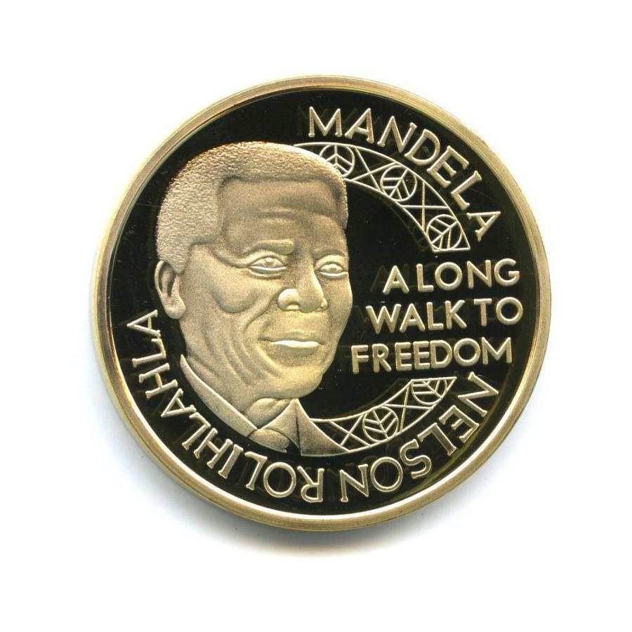 Жетон «Nelson Mandela - Along way tofreedom, Robben Island»