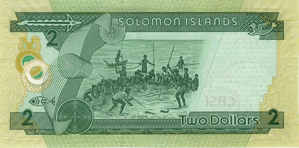 2 доллара, Соломоновы Острова