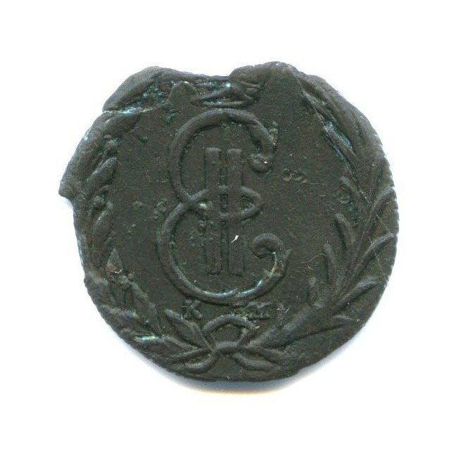 Денга (1/2 копейки) 1769 года КМ (Российская Империя)