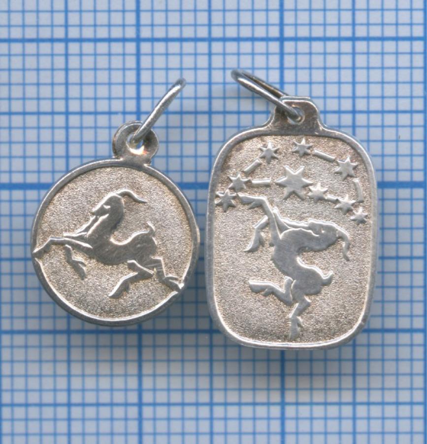 Набор подвесок «Козерог» (925 проба серебра)