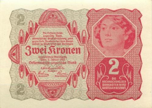 2 кроны 1922 года (Австрия)
