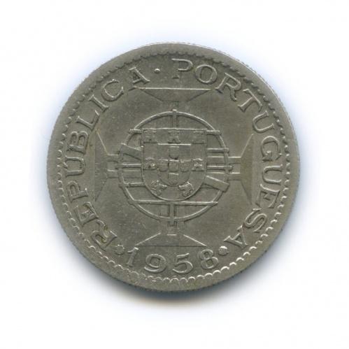 3 эскудо, Португальская Индия 1958 года