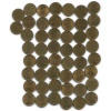 Набор монет 10 копеек (50 шт.) 2010 года СПМД (Россия)