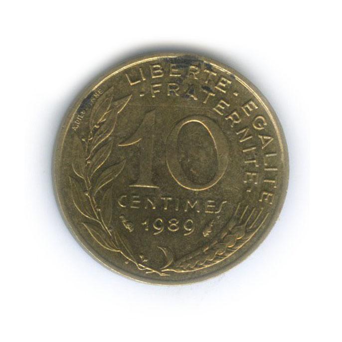 10 сантимов 1989 года (Франция)