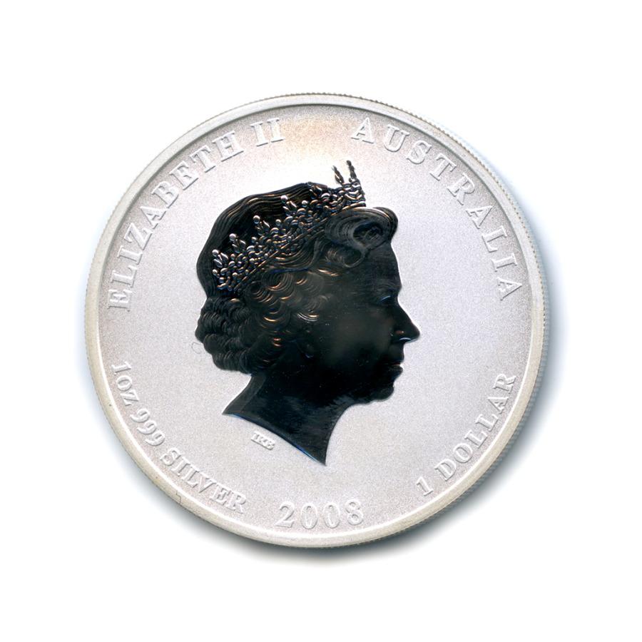 1 доллар — Восточный календарь - Год Мыши 2008 года (Австралия)