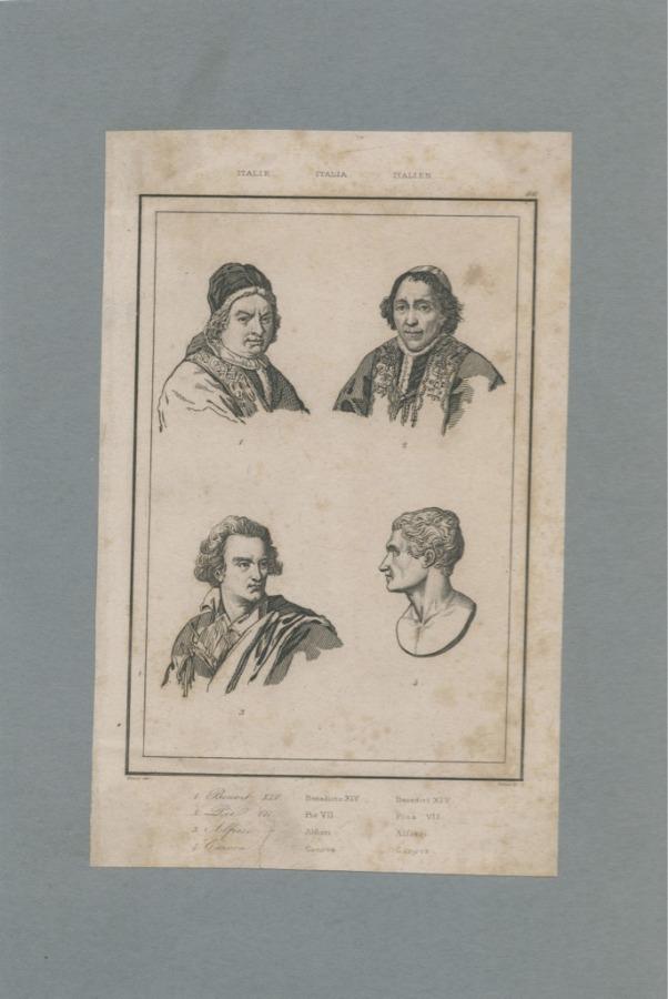 Гравюра (середина XIX века) (Италия)