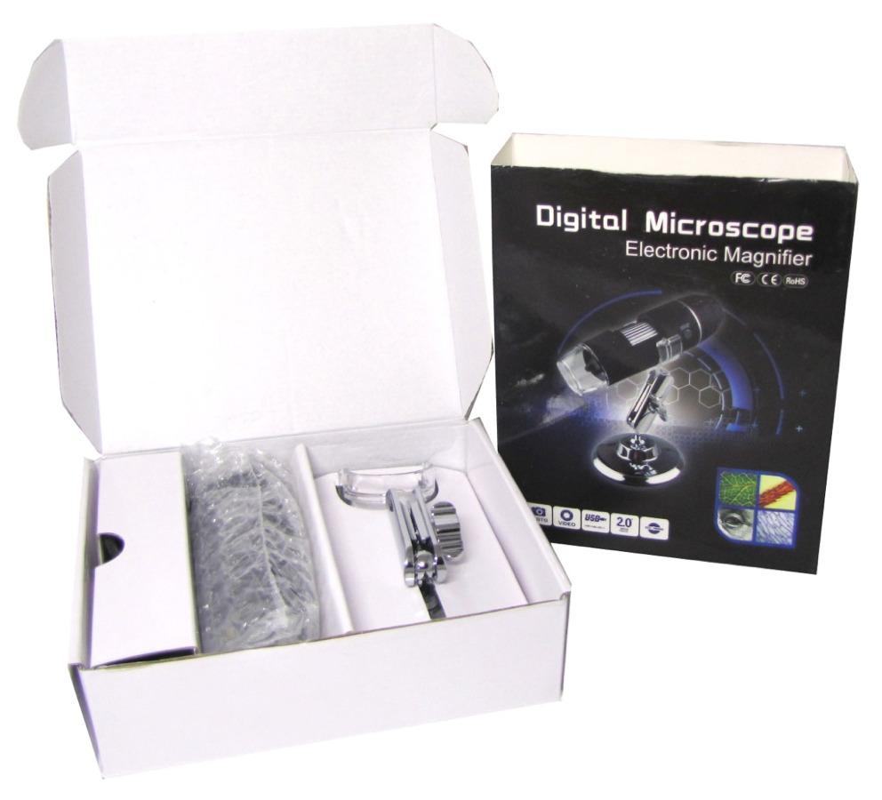 Микроскоп электронный, увеличение 500х