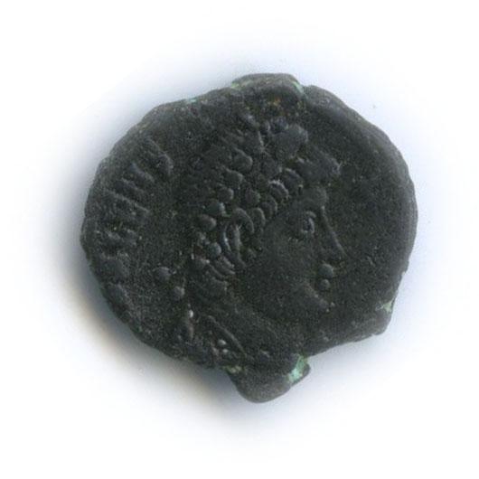 1/4 центинионалия - Валент Цезарь (Рим, 364-378 г. н. э.)
