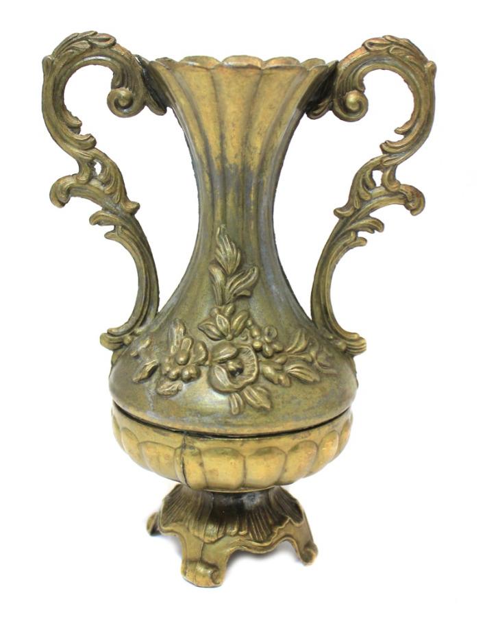 Ваза «Цветы» (тяжелый металл, 16,5 см)