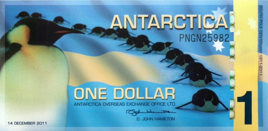 1 доллар (Антарктика) 2011 года