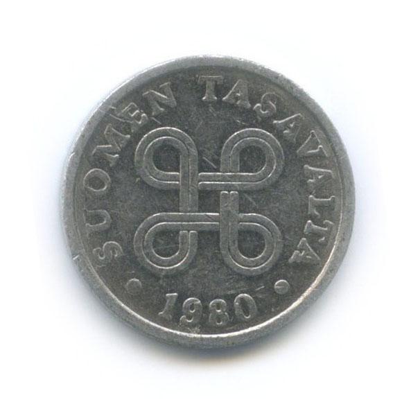 5 пенни 1980 года (Финляндия)