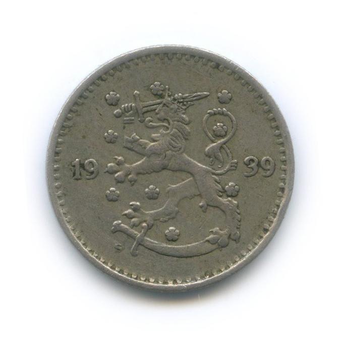 1 марка 1939 года (Финляндия)