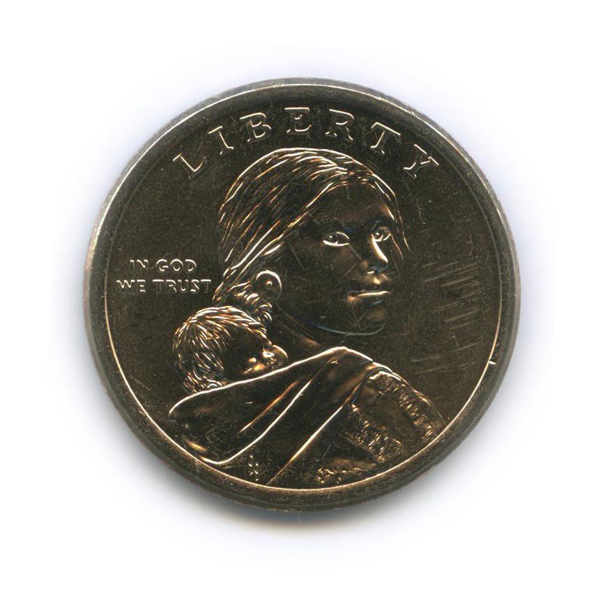 1 доллар - Коренные американцы - Радисты-шифровальщики Первой иВторой мировых войн 2016 года Р (США)
